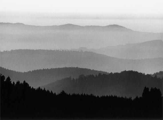 Peter Keetman Schwarzwald-Landschaft, 1980Silbergelatine-Abzug22,5 x 30,5 cm© Stiftung F.C. Gundlach