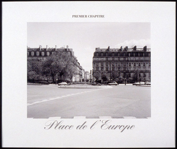 Christian Wachter: Chapter One, Place de l'EuropeGelatine silver print on Baryte paper, embossed stamp, 50 x 60 cm
