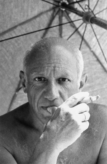 Willy MaywaldPablo Picasso in Golfe-Juan, 1948© Association Willy Maywald / VG Bild-Kunst, Bonn 2016