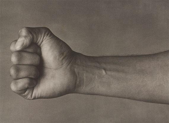 "John Stewart: Muhammad Ali ""Fist"", Chicago, 1977, Pigment Print"