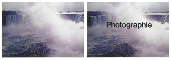 Timm Rautert: Photographie, 2 Farbfotografien, 1974Kupferstich-Kabinett, Staatliche Kunstsammlungen Dresden© Timm Rautert/SKD, Foto: Herbert Boswank