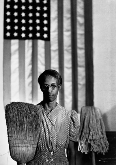 American Gothic, Washington, D.C., 1942 © Courtesy and Copyright The Gordon Parks Foundation