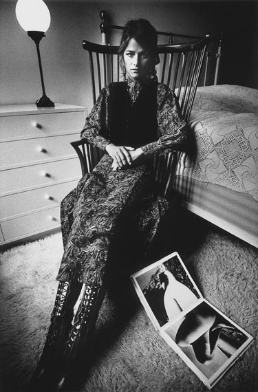 Jeanloup Sieff: Charlotte Rampling, Paris, 1970 © The Estate of Jeanloup Sieff