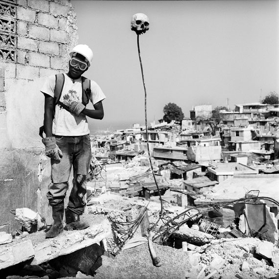 Madame Sergo, Fort National, Port-au-Prince, 2010 © Thomas Kern