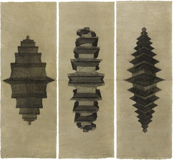 © Jungjin Lee, from Pagodas, 1998
