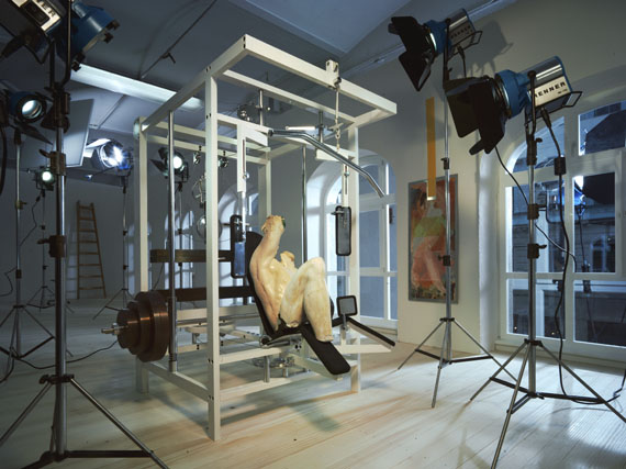 "Lois Renner: ""Fitness"", 2008, C-Print/DIASEC, 180 x 240 cmCourtesy: MAM Mario Mauroner Contemporary Art Vienna/Salzburg"
