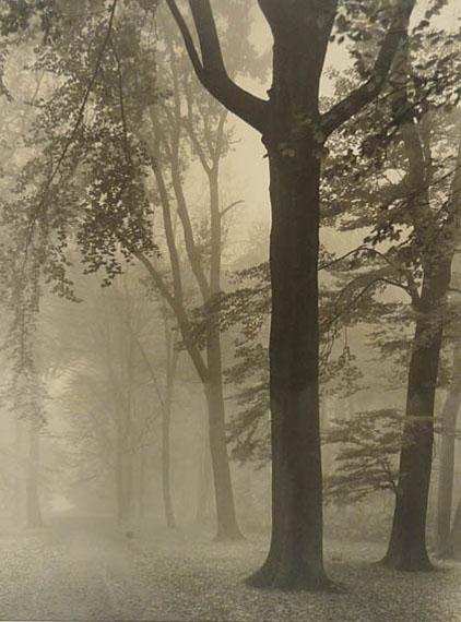Max Baur. Im Nebel, 1930er JahreVintage Silbergelatineabzug38,3 x 28,3 cm© Nachlass Max Baur / Sammlung M.-L. Surek-Becker