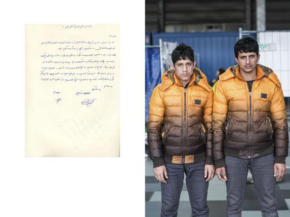 Erol Gurian/laif: Die Brueder Tahsel (17) und Efhamullah (18) Sedequisind aus Laghman, Afghanistan geflohen.