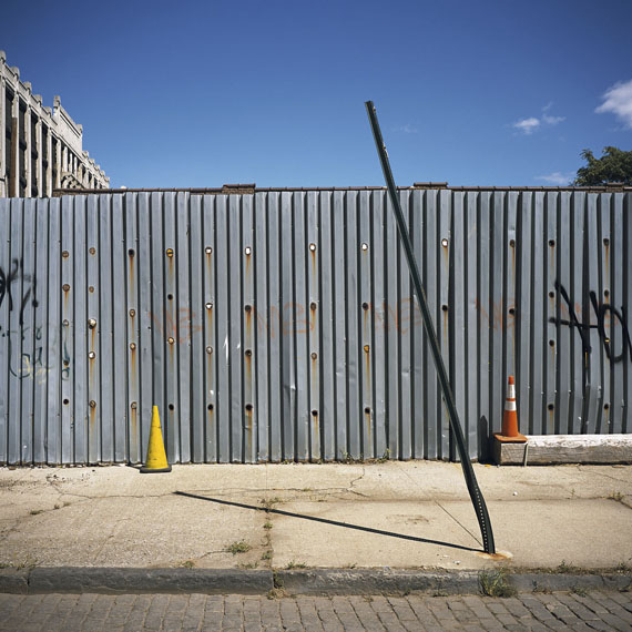 VERONA STREET & IMLAY STREET, RED HOOK (Brooklyn Corrugated Iron Fences), 2013