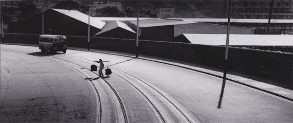 FAN HO: Lines and Forms (1959) Vintage Silver Gelatin Print. 14.8x34.9cm - UniqueCourtesy M97 GALLERY