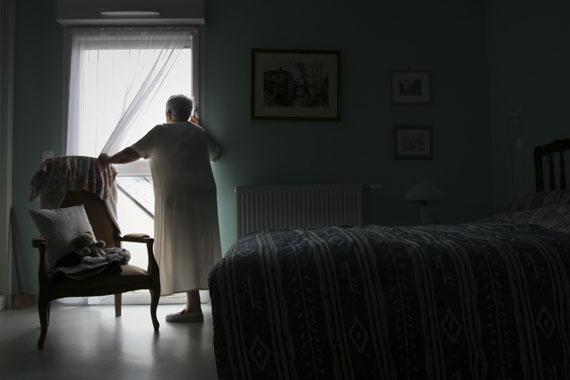 """Amélie Losier""""Andrée"""" aus der Serie """"Les mots s'envolent: la mémoire en exil"""", 2011© Amélie Losier"""