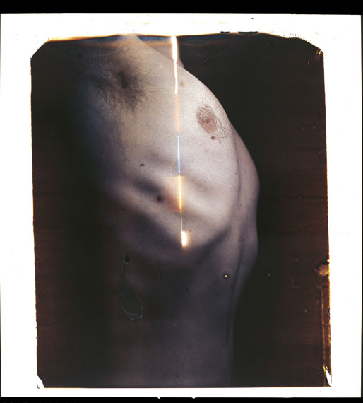 Paolo Gioli: Série Thorax, 2015 - Torace, 2007, polaroid, optical, 60x50 cm