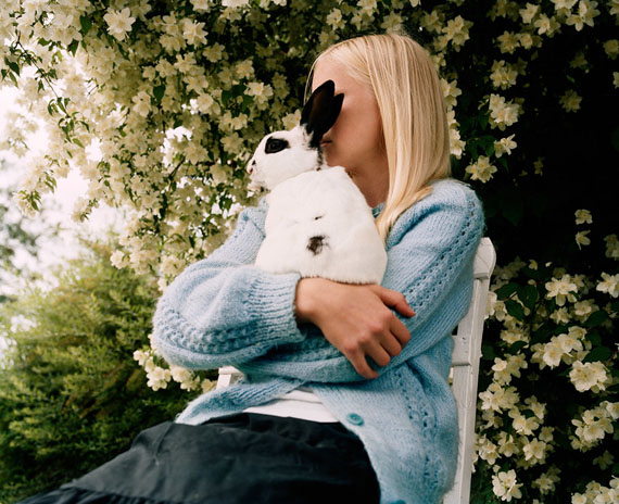 Girl and Rabbit, 2002