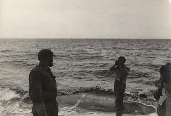 Korda, lot 42, Cuba, fotógrafos retratando a Fidel Castro, década de 1960