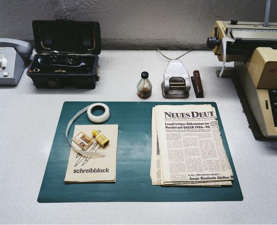 """Aus der Serie """"Inside Stasi"""" © Thomas Meyer / OSTKREUZ"""