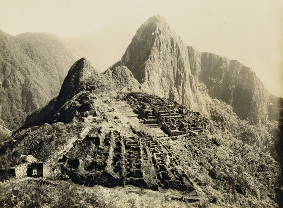 Lot 101Martin Chambi, contemporary binder with 50 medium-format photographs of Peru, 1920s. Estimate $20,000 to $30,000.
