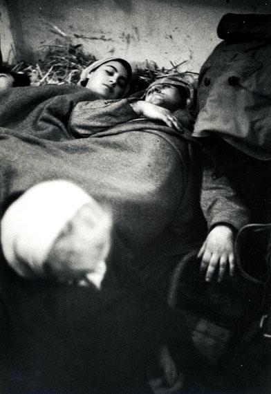 Erich LessingUngarische Flüchtlinge in Andau, Österreich Winter 1956 © Erich Lessing