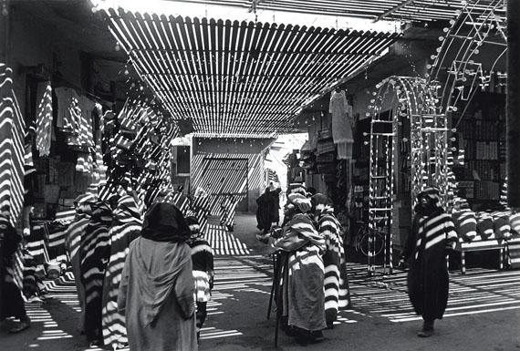 Yakov Khalip. A bazaar in Morocco. 1969