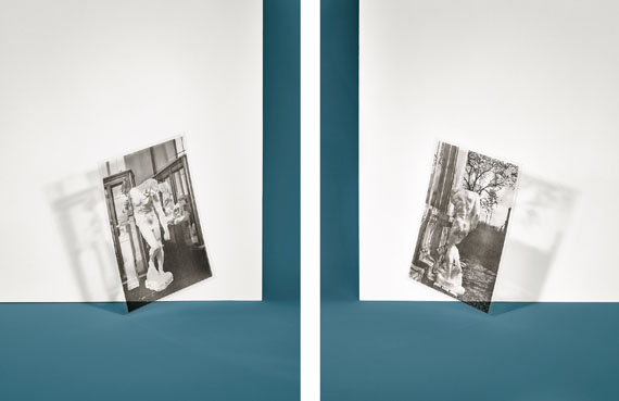 "Samuel Henne""untitled (the shade)"", aus ""constellation""2 Fine Art Prints, je 56 x 42 cm, 2016"