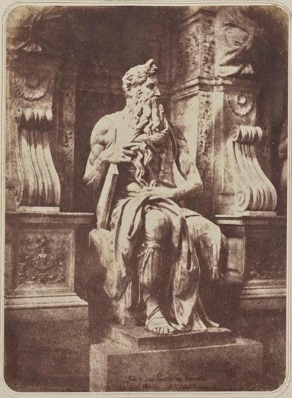 AMÉLIE GUILLOT-SAGUEZ (1810–1864)Rome, 1847Exceptional and previously unknown albumof 37 salt paper prints8¾ x 11⅞ x 03/8 in.€200,000–300,000