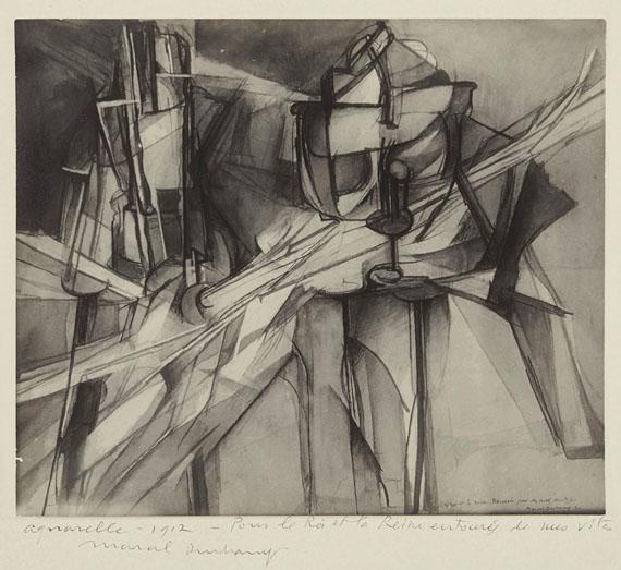 MAN RAY (1890–1976) & MARCEL DUCHAMP (1887–1968)Vierge (Gallatin), Marcel Duchamp, 1912Gelatin silver print11½ x 8¼ in.€15,000–20,000