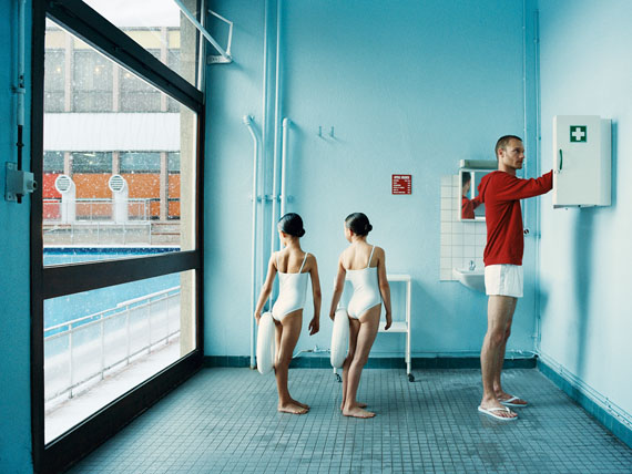 169. Claudia Imbert (1971)Une famille incertaine, 2011-2012.Sans titre #1.Print signed and dated. Edition of 3.