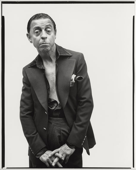 Richard Avedon: James Galanos, New York City, October 8th, 1975© The Richard Avedon Foundation