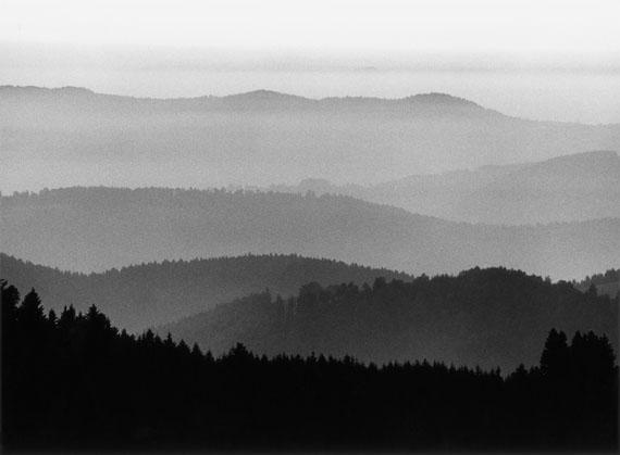 Peter Keetman: Graustufen, Schwarzwald 1980 © Stiftung F.C. Gundlach