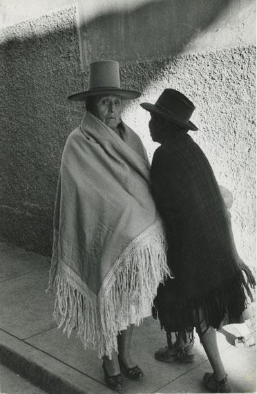 Sergio LarrainPotosí Bolivie, 1958Magnum artist copyright wetstamp on versoVintage silver gelatin print25.4 x 17 cm© Sergio LarrainCourtesy Michael Hoppen Gallery
