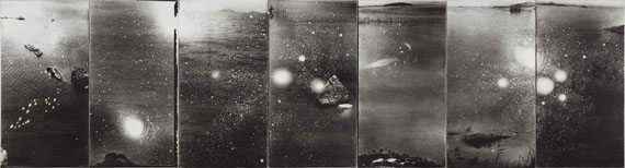 Shao WenhuanIndefinite...II, 2010Photography, gelatin emulsion in silver halide on silk115 x 60cm x 7 panelsM97 Gallery