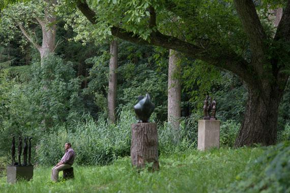 """Günter Grass / Das Prinzip Apfelbaum © Bettina Flitner / Initiative """"Mein Erbe tut Gutes. Das Prinzip Apfelbaum"""""""