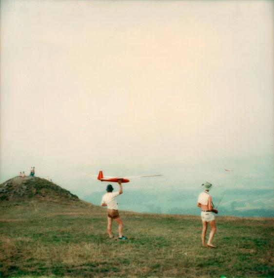 "Knut Wolfgang Maron: from the series ""Bilder über Landschaften"", Röhn, 1981, Vintage-Print"