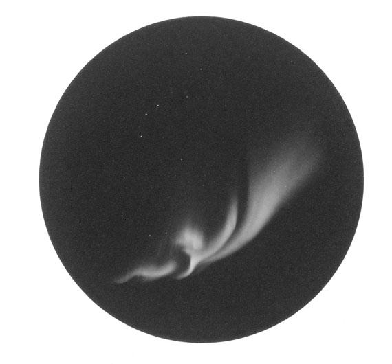 © Jens Knigge 'Aurora No.8',  Platin-Palladium-Print auf Arches Papier 2015 / Courtesy Johanna Breede PHOTOKUNST