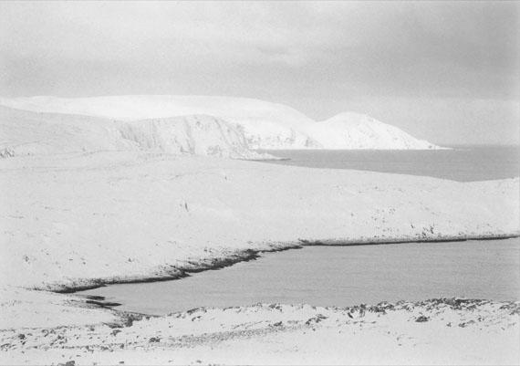 © Jens Knigge 'Sandfjorden' 2015 , Platin-Palladium-Print auf Arches Papier 2015, Courtesy Johanna Breede PHOTOKUNST