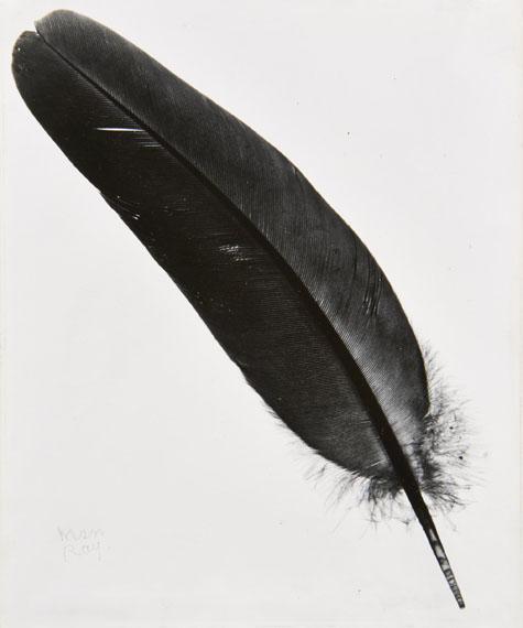 Lot 20MAN RAY (1890-1976)Plume – circa 1945