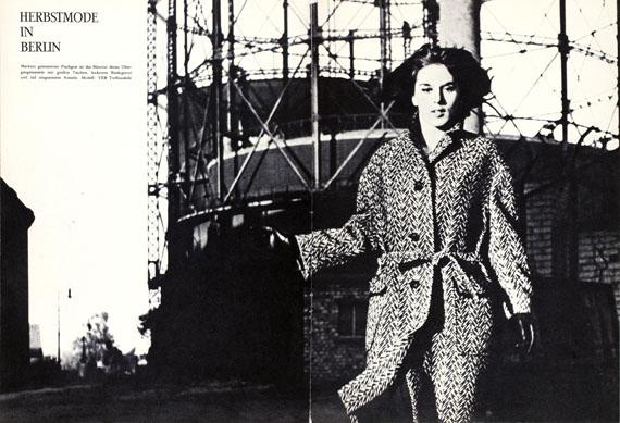 SIBYLLE1962, Ausgabe 4, Seite 38-39© Arno Fischer