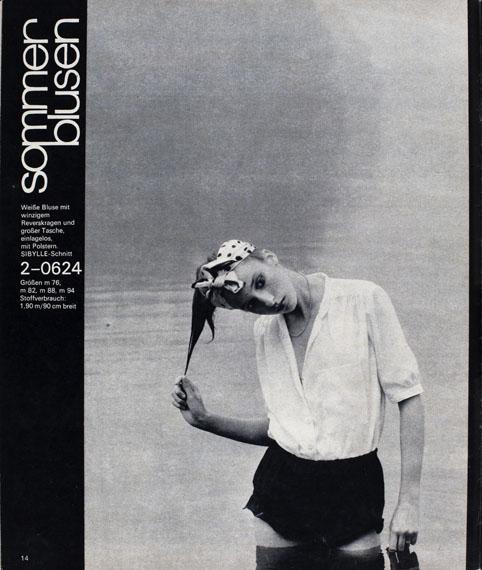 SIBYLLE1980, Ausgabe 2, Seite 14© Ute Mahler