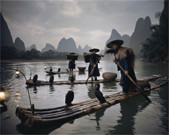 XXII 467. Yangshuo Cormorants, China, 2005. 100 x 120 cm. Edition 6/6. © Jimmy Nelson