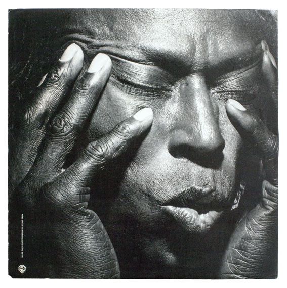 Irving Penn: Miles Davis, Tutu, 1986 © Warner Bros. Records