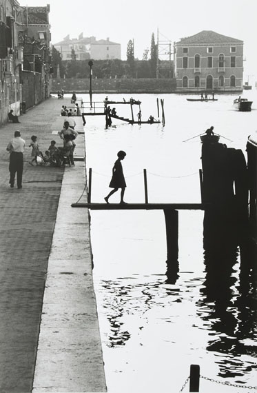 Lot 132Willy Ronis (1910-2009)Fondamenta nuoveVenise, 1959Gelatin silver print