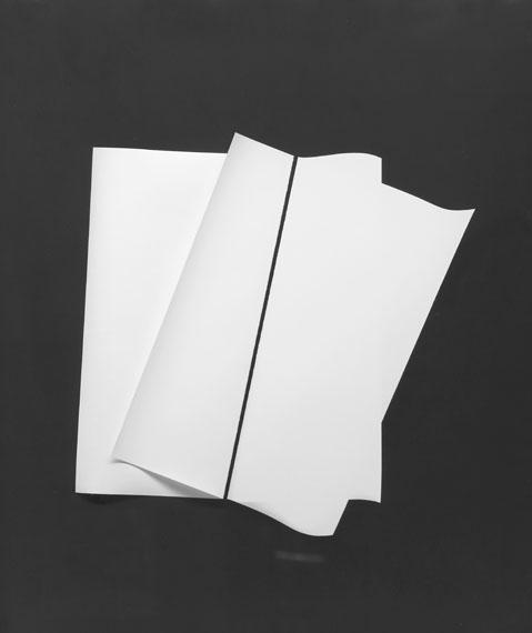 Gottfried Jäger: photogram, silvergelatine, 2011, IV-1-2 zwei-Fotos/two photographs, 40 x 50 cm