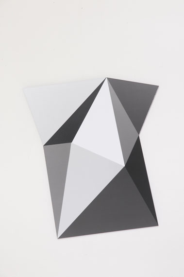 Esther Hagenmaier: photogram mounted on aludibond, o.T. silvergelatine, 2014, ca 35 x 45 cm