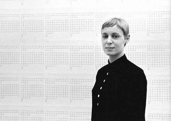 Hanne Darboven, Düsseldorf, 1968 © Angelika Platen / bpk