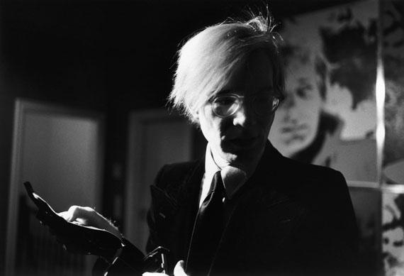 Andy Warhol, Hamburg, 1972 © Angelika Platen / bpk