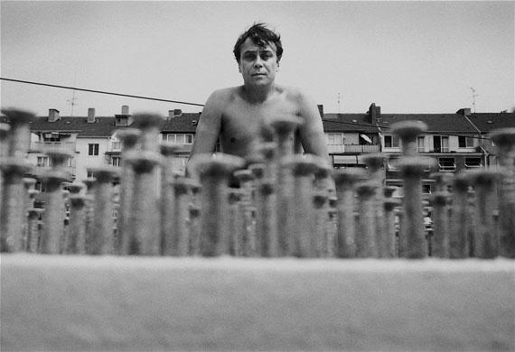 Günther Uecker, Düsseldorf, 1971 © Angelika Platen / bpk