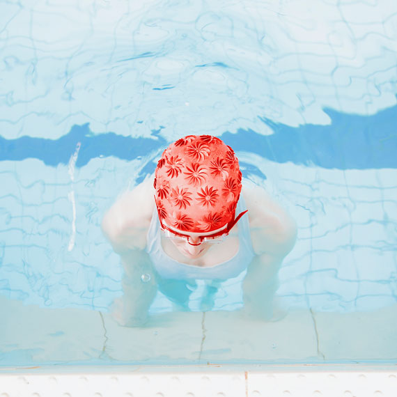 Maria Svarbova - Untitled (from Swimming Pool series) - Courtesy of Momentum Fine Art