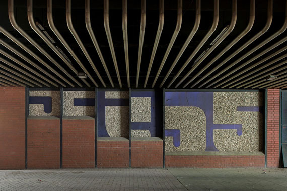 Marc Theis: Raschplatz unter dem ZOB II, aus der Serie Das andere Hannover 2015 © Marc Theis