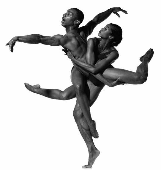 Howard Schatz. Vikkia Lambert and Uri Sands #1, Alvin Ailey American Dance Theater, photographed in New York City, September 1996Photograph by Howard Schatz from SCHATZ IMAGES: 25 YEARS © Howard Schatz and Beverly Ornstein 2015