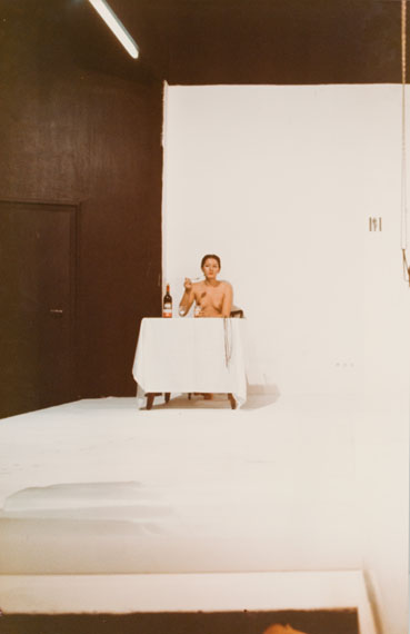 Los 86Marina AbramovicLips of Thomas 1975