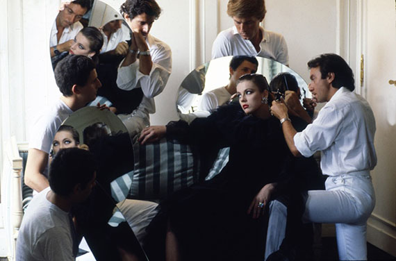 Denis Piel. Nina Klepp. Paris, 1982. Vogue USA